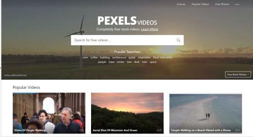 pexels videoer